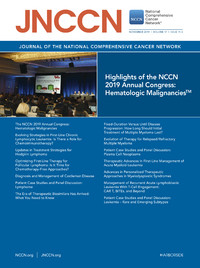 Cover Journal of the National Comprehensive Cancer Network