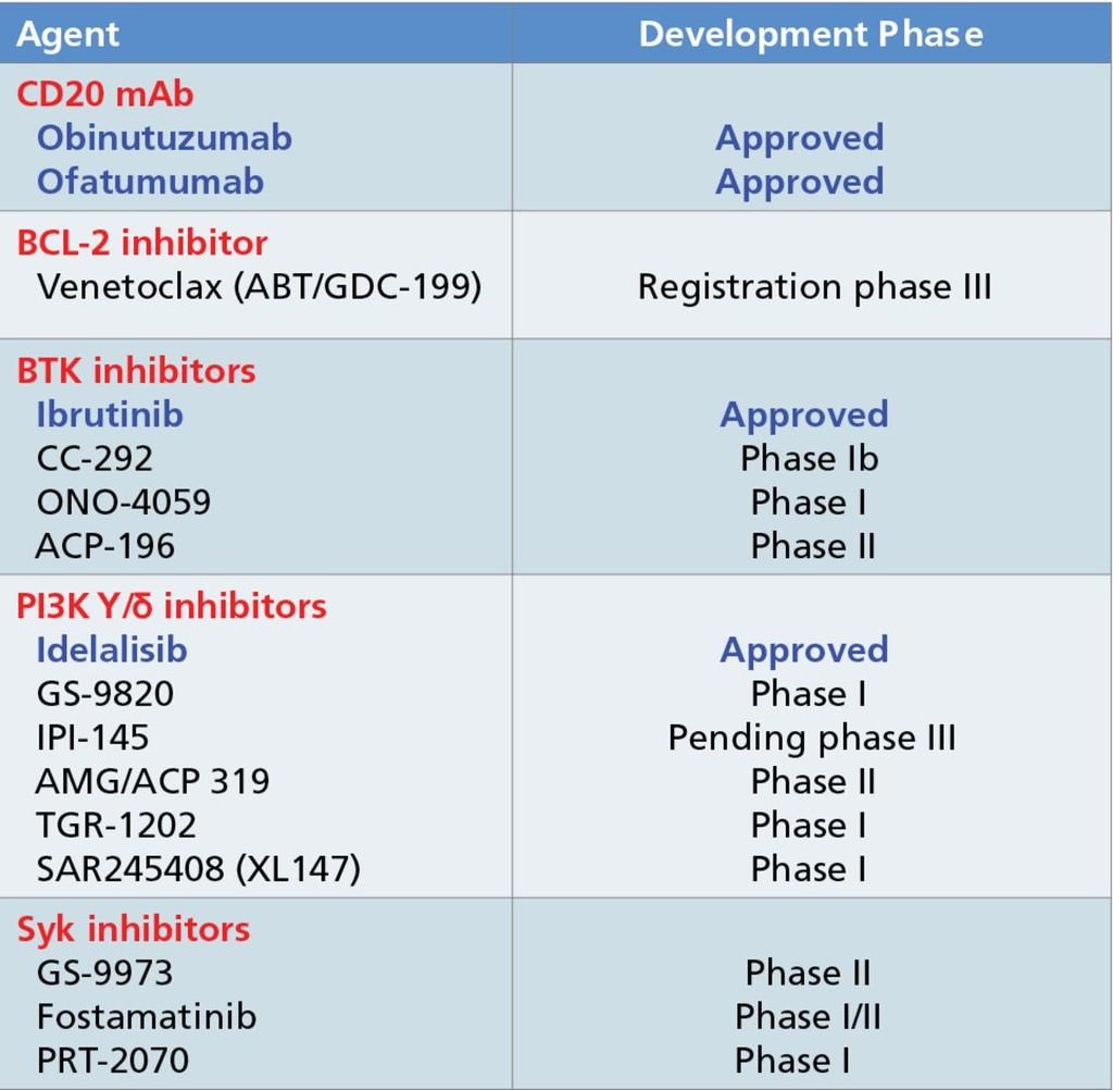 Updates to the Management of Chronic Lymphocytic Leukemia in