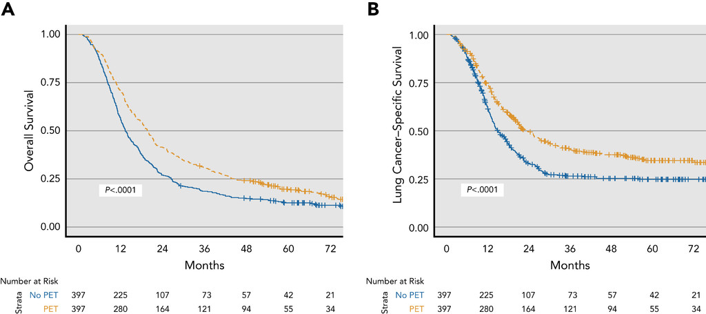 Increasing PET Use in Small Cell Lung Cancer: Survival
