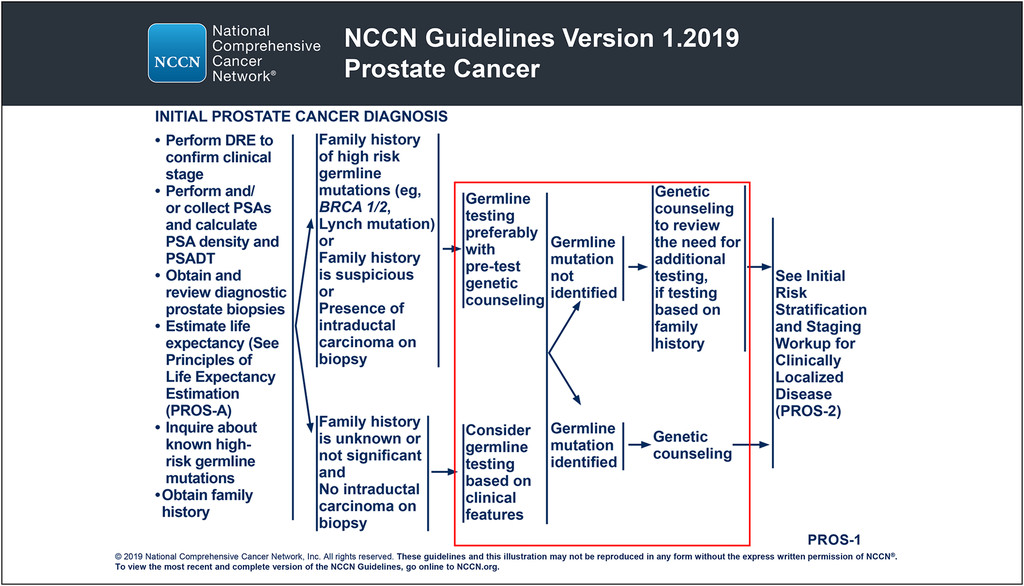 prostate cancer metastatic guidelines