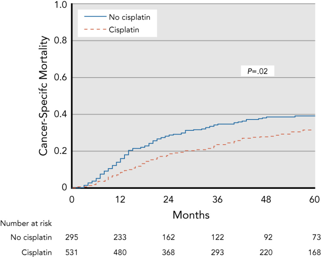 Benefit of Cisplatin With Definitive Radiotherapy in Older Women